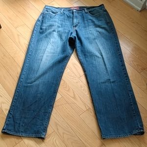 Lucky Brand 181 relaxed straight jeans 38x32